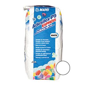 Mapei Adesilex P9 Express Tile Adhesive White - 20kg