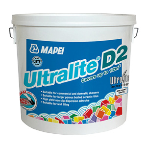 Bag of 12.5kg Tile Adhesive by Mapei Ultralite D2