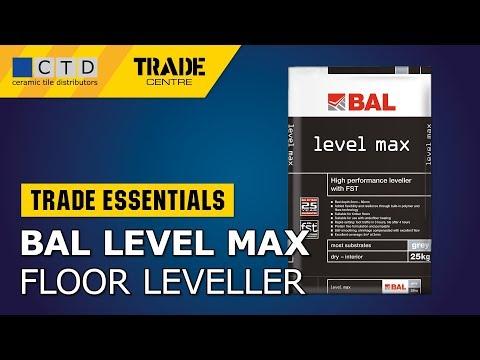 BAL Level Max Floor Leveller - 25kg